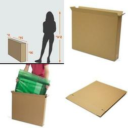 10 PACK Cardboard Moving Box 30x5x24 Sturdy Storage Boxes Pi