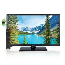 "AXESS 23.8"" HIGH DEFINITION LED TV with DVD PLAYER AC/DC USB"