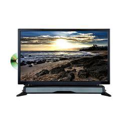 Axess 24 Widescreen HD LED TV DVD Combo W SoundBar AC/DC Pow