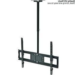 """26-60"""" Large Ceiling Mount TV Bracket – Adjustable LCD/D"""