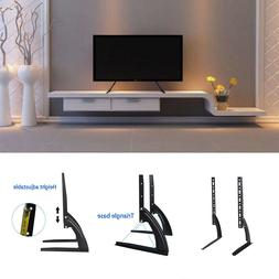 2X Universal Tabletop TV Stand Pedestal Mount Monitor Riser