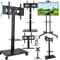 """32 42 55 65 70"""" Floor Mobile TV Stand Stable Tabletop TV Mou"""