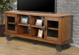 """OS Home and Office 33270 Industrial Collection 72"""" TV Consol"""