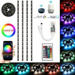 4pcs RGB USB LED Strip Light Smart WiFi TV Back Light for Al