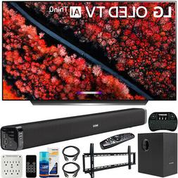 LG 55-inch C9 4K HDR Smart OLED TV  Bundle with Deco Gear So