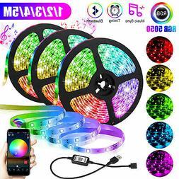 5V USB LED Strip Lights TV Back Light 5050 RGB Color Change