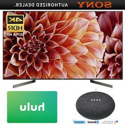 Sony 65-Inch 4K Ultra HD Smart LED TV w/ Google Home Mini +