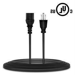 6ft UL AC Power Cord Outlet Plug Cable for VIZIO E370VL M370