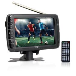 "AXESS 7"" LCD PORTABLE DIGITAL TUNER TV TELEVISION w/ RECHA"