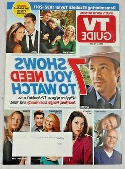 7 Shows You Need to Watch TV Guide Apr 2011 Justified Commun