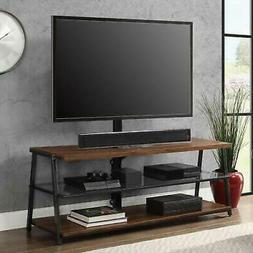 70 Inch TV Stand Stands For Flat Screens Swivel Mount Media