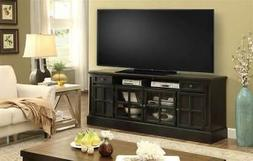 72 in. TV Console with Power Center in Vintage Coal