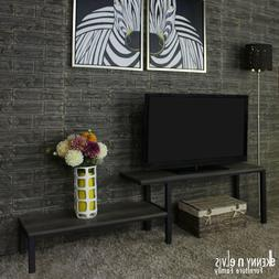 """KennynElvis 72"""" """"M"""" Style TV Stand Display Cabinet"""