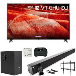 """LG 86"""" 4K HDR Smart LED IPS TV with AI ThinQ 2019 Model + So"""