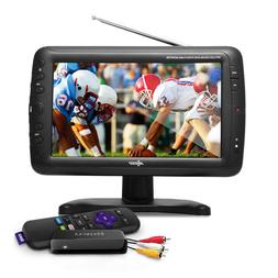 "Axess 9"" LCD TV with Roku & Built-in Speakers TV1703-9"