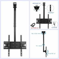 Ceiling Mount TV Wall Bracket Roof Rack Pole Retractable For