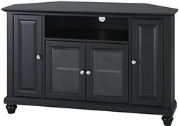 Crosley Furniture Cambridge 48-inch Corner TV Stand - Black