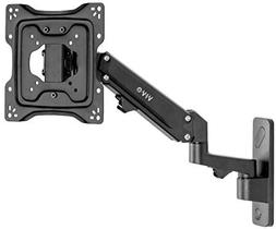 VIVO Premium Aluminum Single TV Wall Mount Adjustable Arm fo