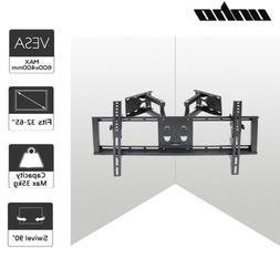 Corner Mount for TV Premium Swivel Wall Bracket 4K Flat Pane