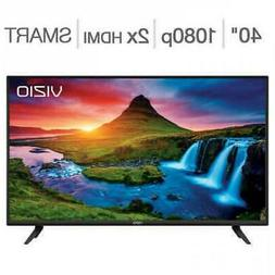 "Vizio D40F-G 40"" Inch Class 1080P LED LCD HD Smart TV with b"