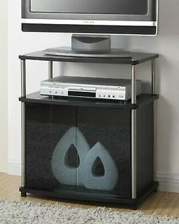 Elegant TV Stand with Cabinet for Flat TV's up to 25 Inch -