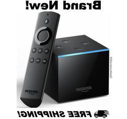 Fire TV Cube w/ Alexa, Remote 4K Ultra HD Streaming Media Pl