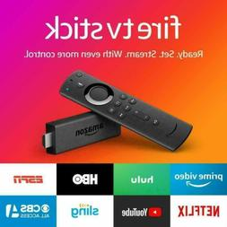 Amazon Fire TV Stick 2019 All-New Alexa Voice Remote with TV