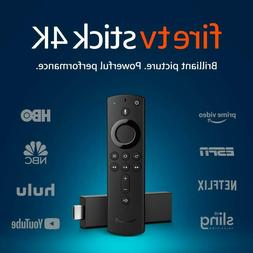 Amazon Fire TV Stick 4K with The New Alexa Voice Remote cont