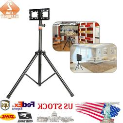"""Generic Portable Tripod TV Stand Fits 18-32"""" 0.9-1.7M Heig"""