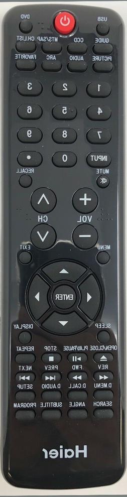 HAIER HTR-D10 TV/DVD COMBO REMOTE CONTROL ORIGINAL HLC19KW1