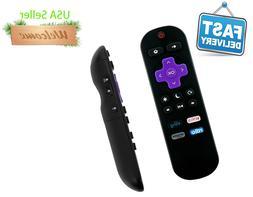 HAIER Roku TV Replace Remote Rdio Sling volume control 398GR