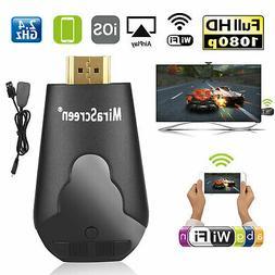 4K WIFI 1080P Wireless Display TV Dongle Adapter HDMI Receiv