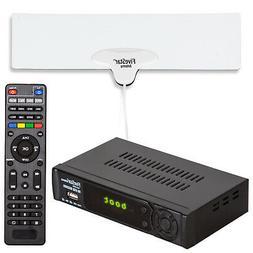 Digital Converter Box for TV Indoor Antenna HDMI Cable Bundl