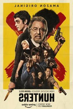 Hunters Poster Amazon Prime Video Show  Al Pacino