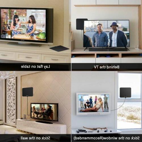 100 Range TV 4K Antena Digital HDTV