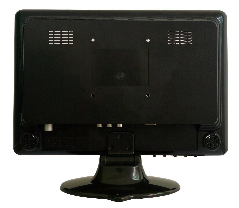 milanix 12 inch led small kitchen tv