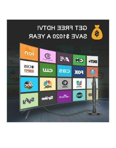 2020 Newest Antenna Digital Indoor, HDTV Antenna