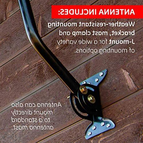 GE Pro Attic TV Long HDTV Antenna, 4K 1080P 29884