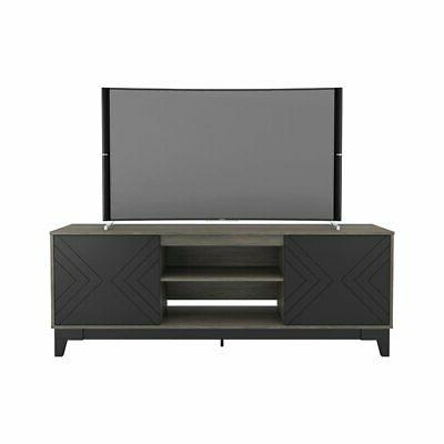 402326 arrow tv stand 72 inch bark