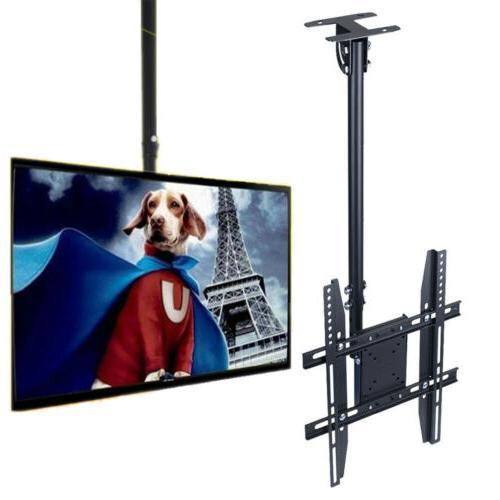 bracket adjustable ceiling tv mount fits 26