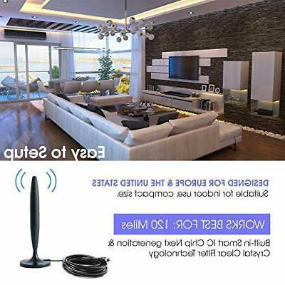 Digital TV Indoor with Amplifier for