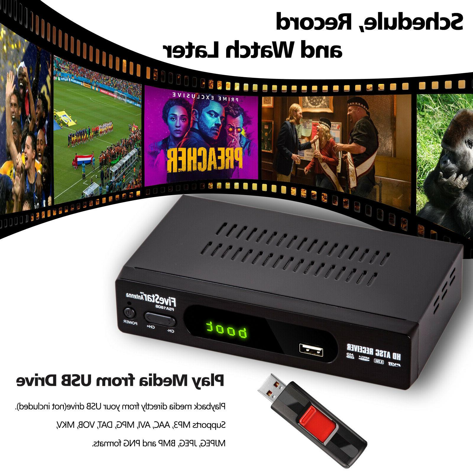 HD 1080P TV Converter PVR Indoor Digital