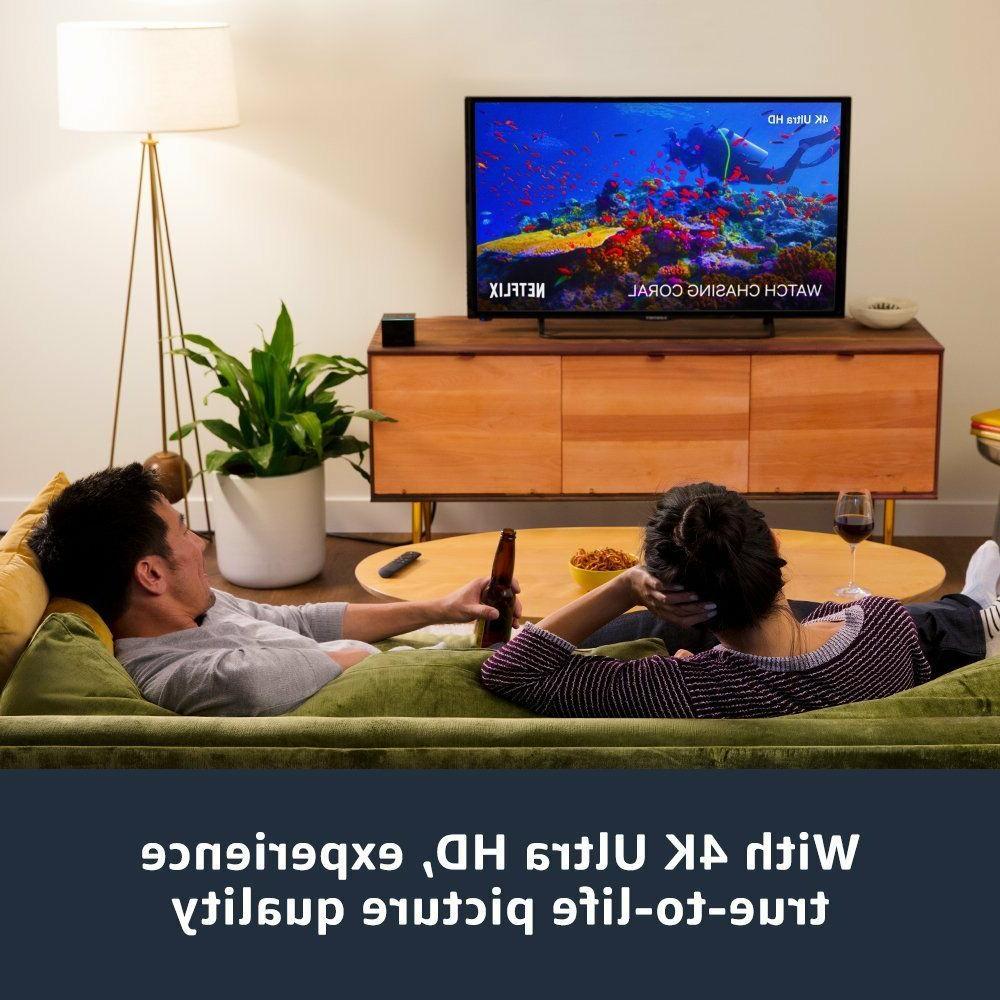 Fire TV Cube w/ Alexa, Remote 4K HD NEW