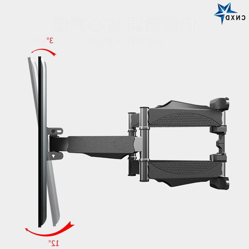 Full LED <font><b>Wall</b></font> Retractable TV Rack <font><b>Mount</b></font> Bracket Swing MAX 400x400mm