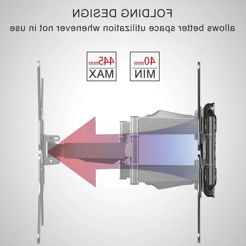LED TV Retractable TV <font><b>Mount</b></font> Swing 400x400mm