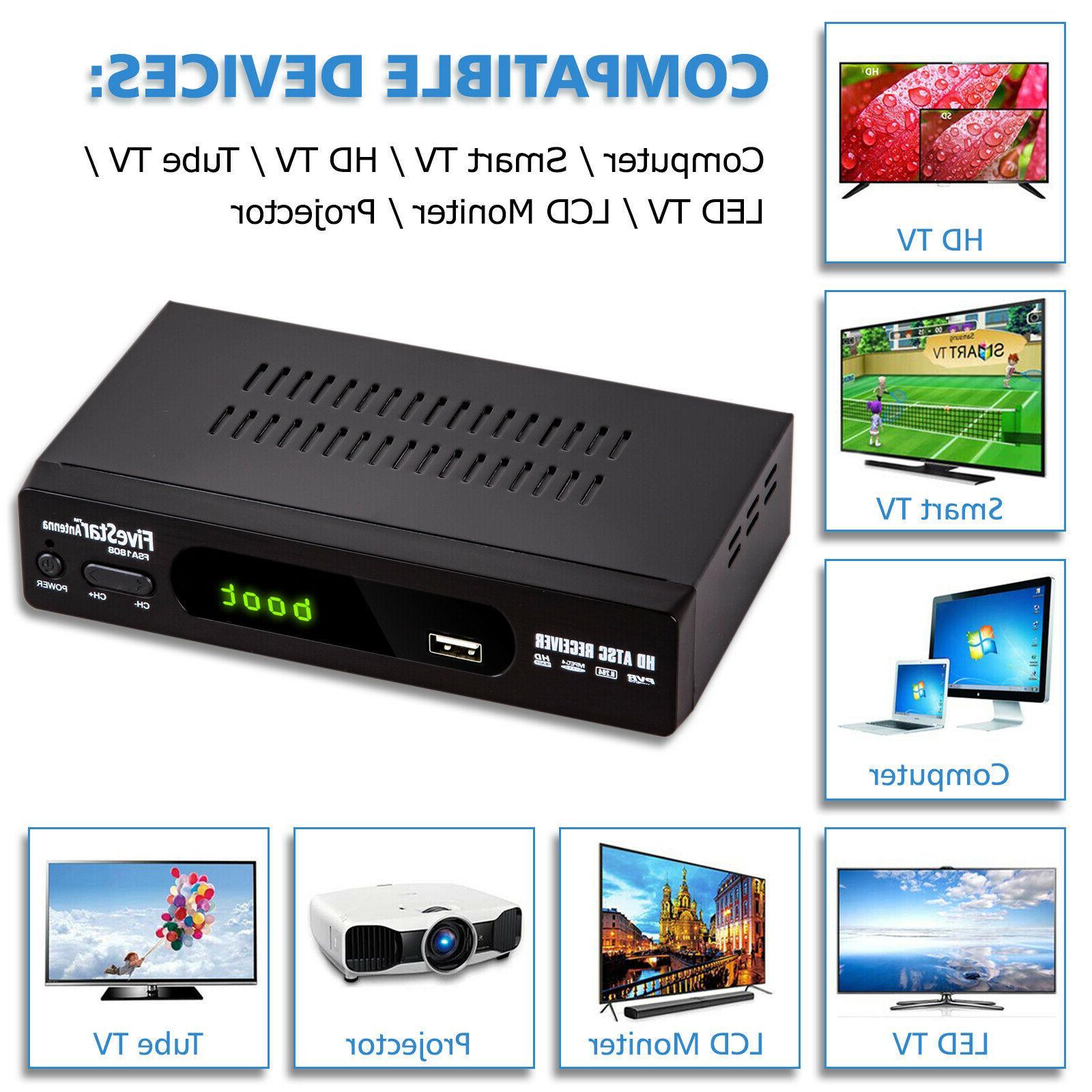 HD 1080P Digital Converter Flat Indoor TV