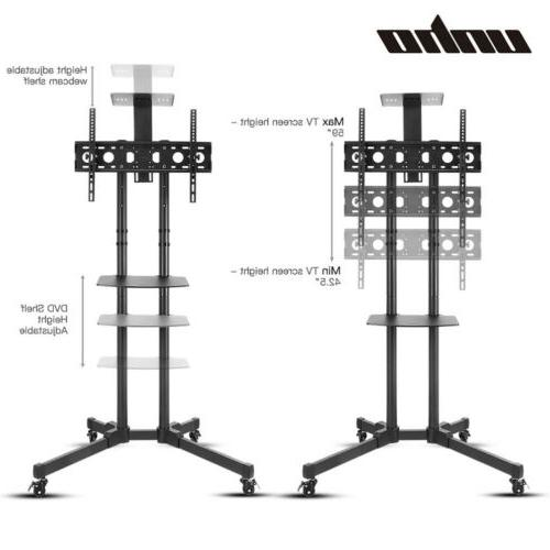 Mobile Rolling Stand LCD LED OLED Flat Top