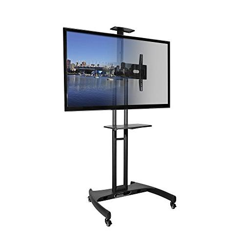 Kanto MTM65PL Mobile TV Stand with Mount for 37 to 65 inch F