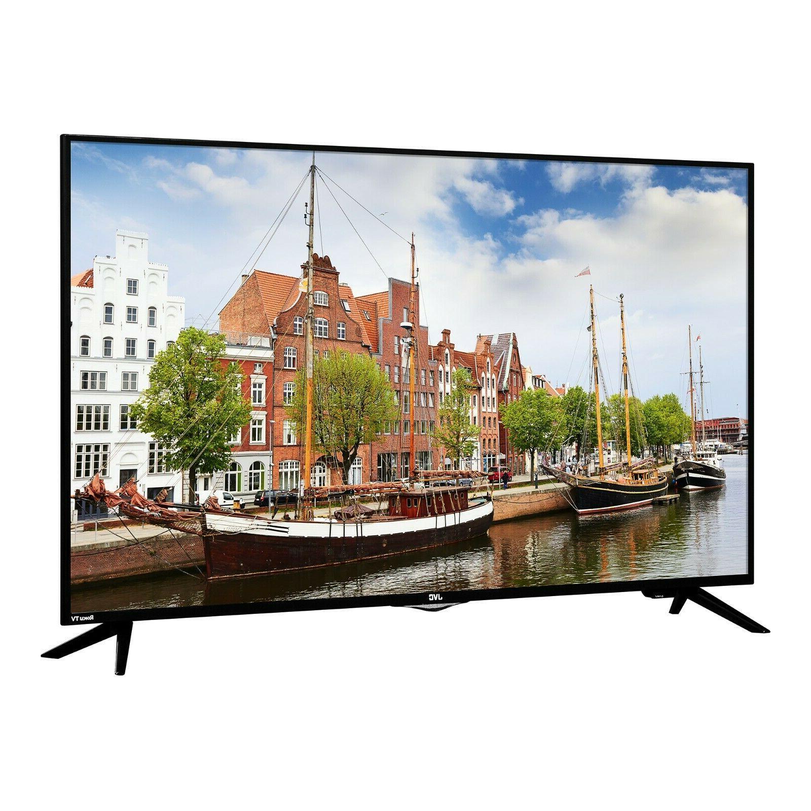 "JVC 49"" Class FHD  Roku Smart LED TV  LED TV"