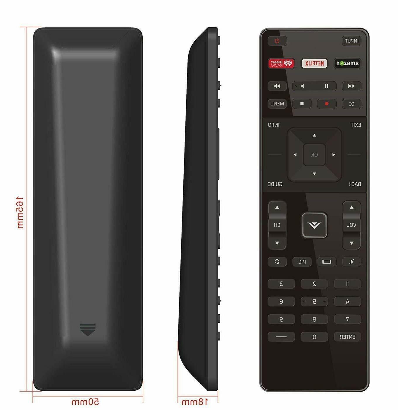 new remote xrt122 replacement for vizio smart